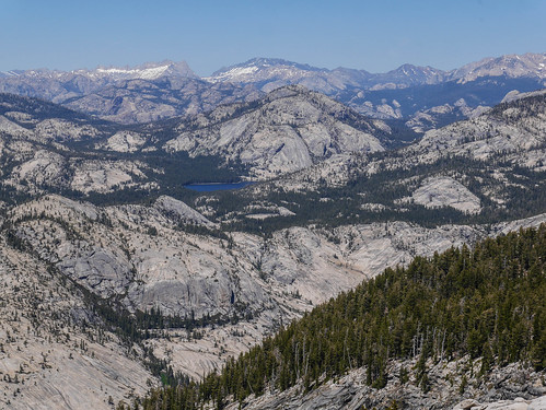 Tenaya Lake + high ountry from Clouds Rest | by snackronym