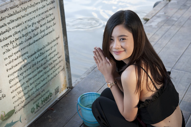 Prayers in Chiang Mai 02 チェンマイの祈り