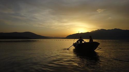 sunset sunsetboat seasunset sea sun boat