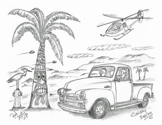Canary Raptor