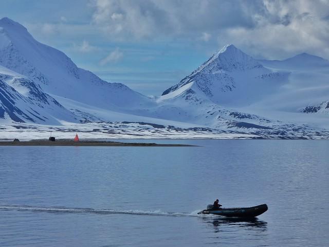 Durante los cruceros polares se ofrecen salidas en zodiak