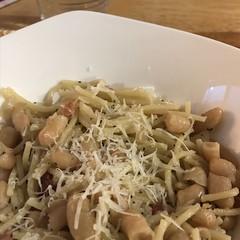 #pastaFagioli #bianchi #cannellini #pasta #fagioli #beans #homemade #Food #CucinaDelloZio 