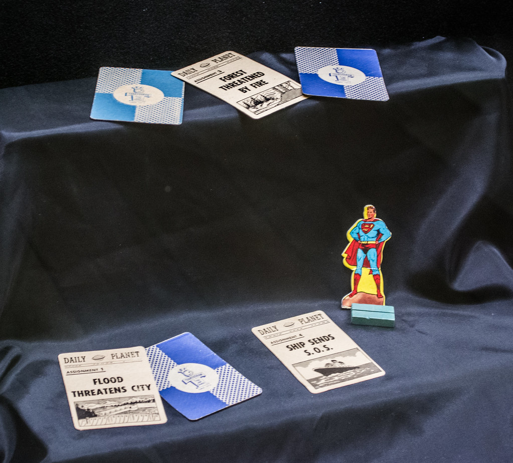 board game 04 - Superman - Cleveland Public Library