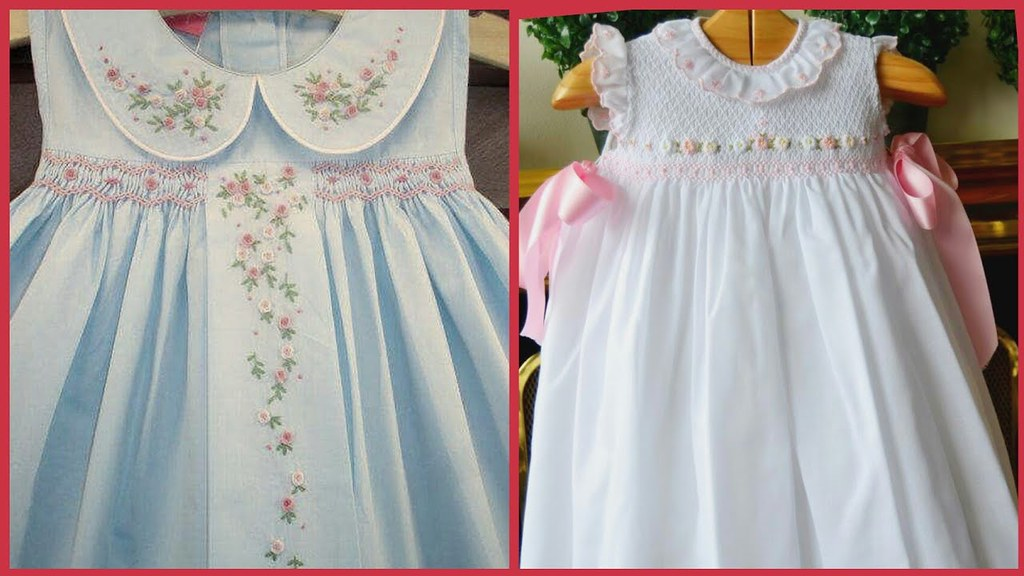 fdd61836a ... Top Beautiful Smocking Stitch Designs For Baby Frocks//Easy Ideas You  Need To Try