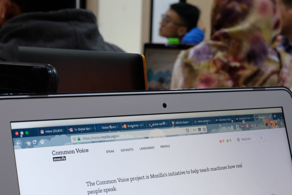 Mozilla Global Sprint Common Voice - Jakarta
