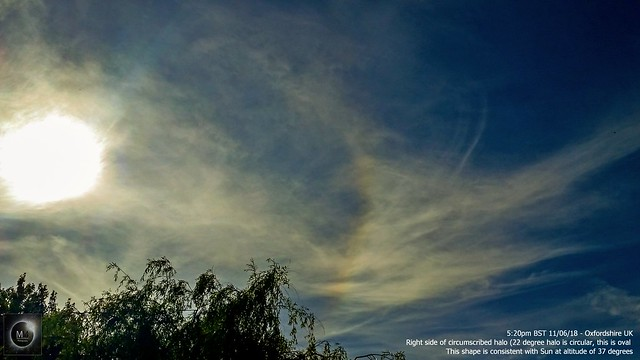 Circumscribed Halo Fragment 5:20pm BST 11/06/18