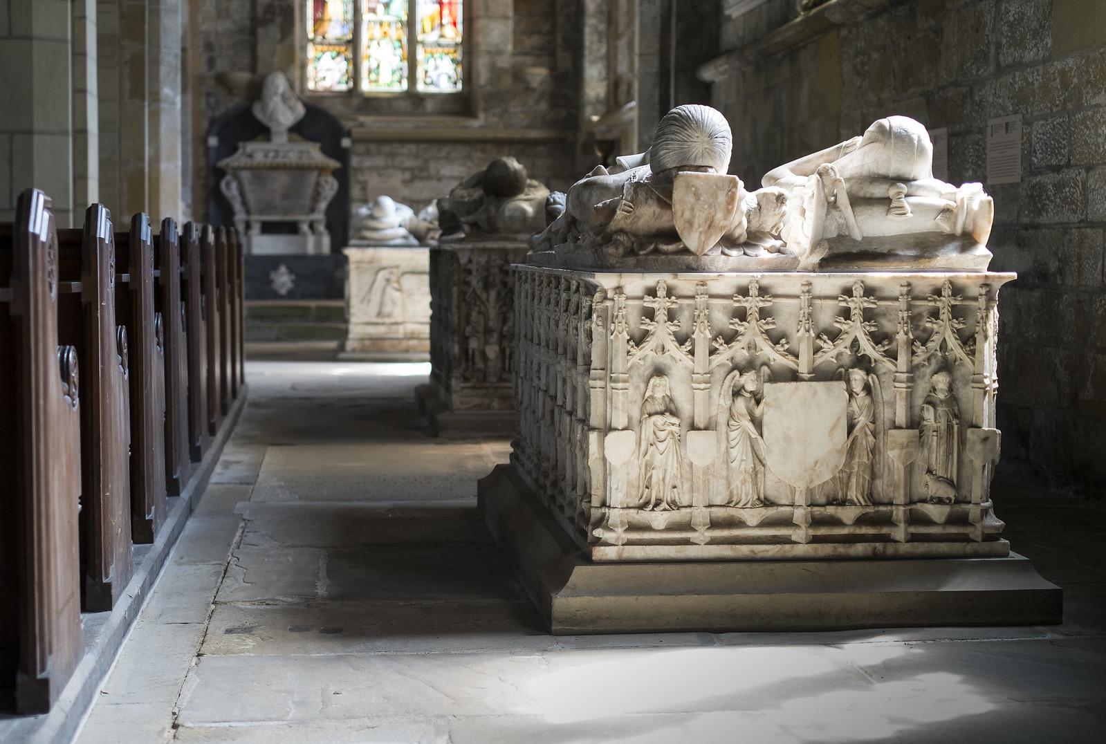 Harewood All Saints - Monuments