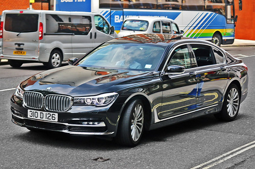 BMW 740Li G12 - 310 D 126 - Azerbaijan Diplomat