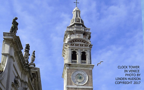 CLOCK TOWER IN VENICE ITALY | by lindenhud1