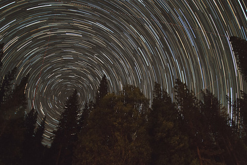 Yosemite Startrail | by kenfagerdotcom