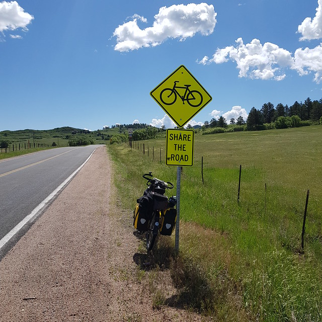 Tue, 05/29/2018 - 10:25 - Perfect road, little traffic and all of it bicycle aware