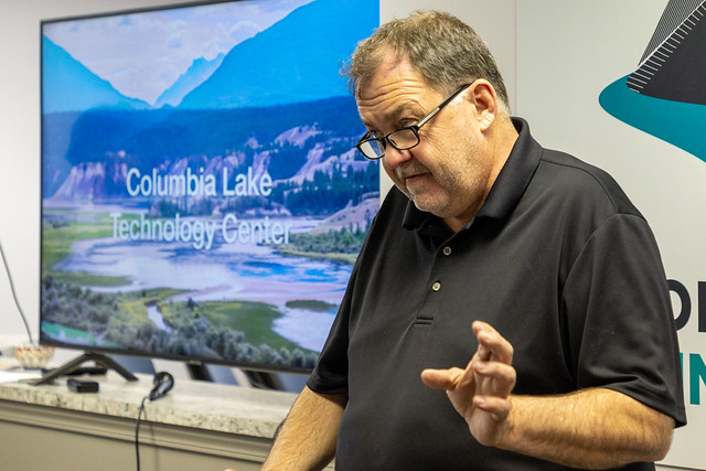 Columbia Lake Technology Centre Announcement