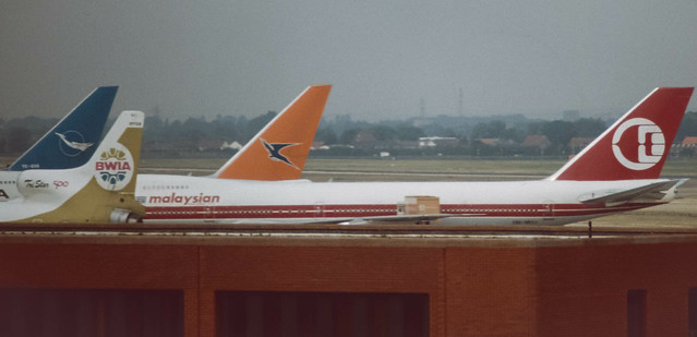 Tails from the past at LHR 1983