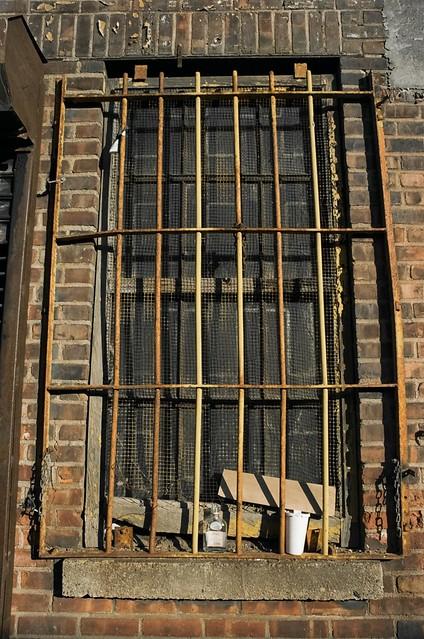 Barred Window, Third Avenue, Brooklyn