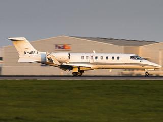 Ryanair | Learjet 45 | M-ABEU
