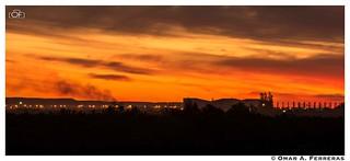 Por do sol no lixeiro | by omarferreras@hotmail.com