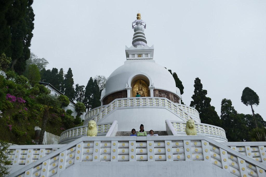 At Japanese Buddhist Temple & Peace Pagoda | Ankur P | Flickr