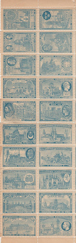 Paris Exposition Sheet | by Spicer57