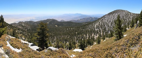 277 Panorama view east and south from the San Jacinto Peak Trail, Jean Peak on the right | by _JFR_