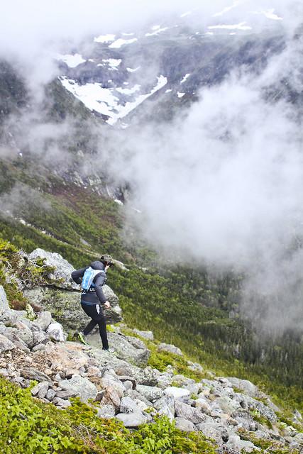 Trail Run On the Alpine Garden Trail, NH with Ryan