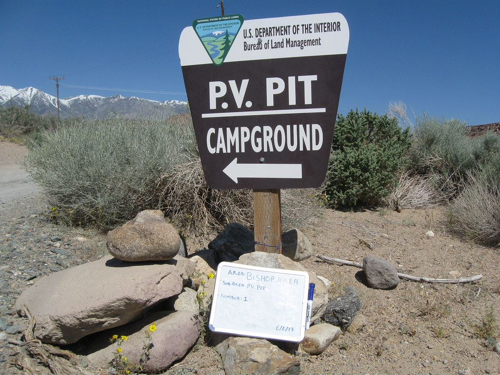 Sign at Pleasant Valley Campground | Photo by BLM  | Bureau