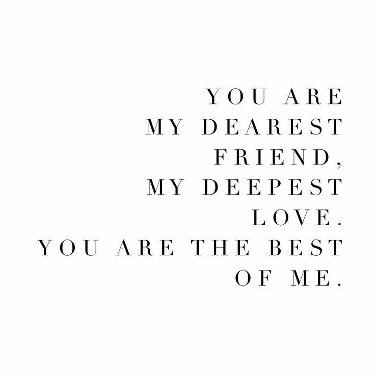 Wedding Quotes You Are My Dearest Friend My Deepest Lov Flickr