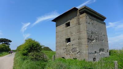 Bawdsey coastal battery observation post