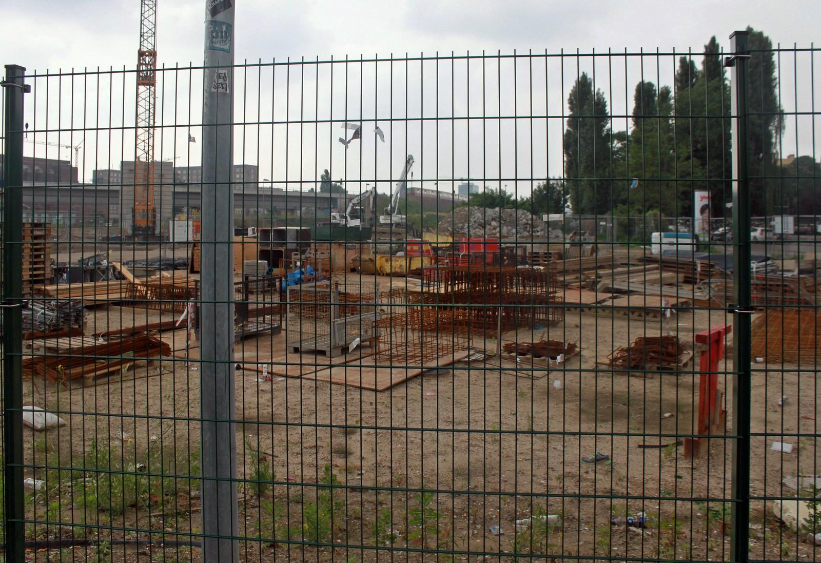 Ostkreuz: Baustelle der Ostbahn-Gleise