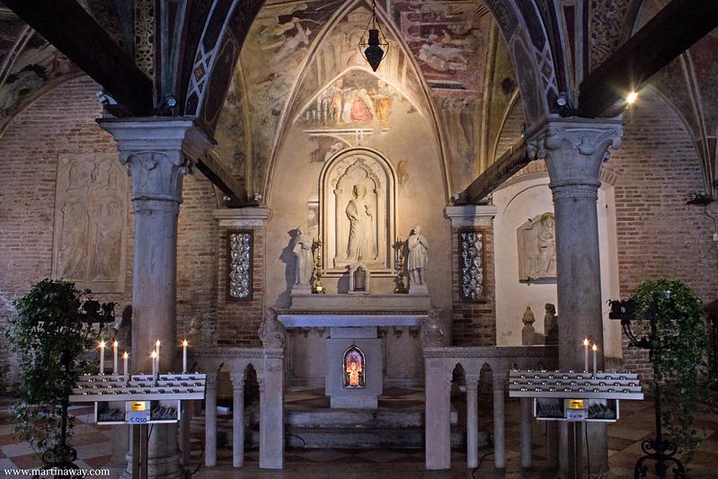 Chiesa di Santa Lucia, Treviso cosa vedere