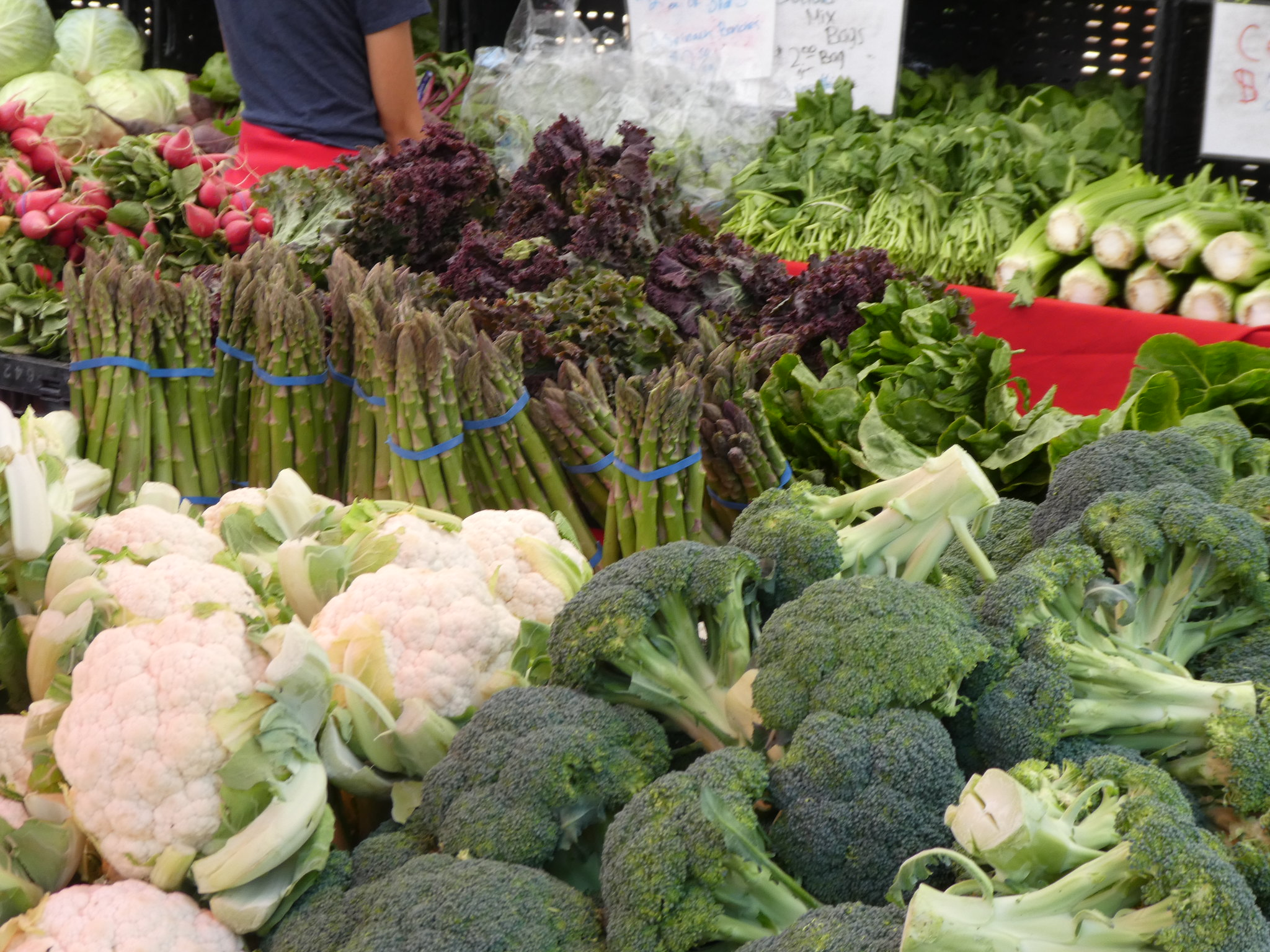 2018-06-09 - Walking around the Brentwood Farmers Market