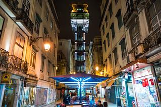 Santa Justa Lift at Night | by nan palmero