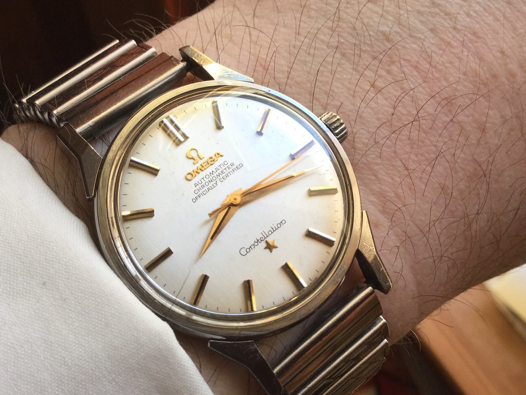 Omega Constellation, calibre 551, from 1963.