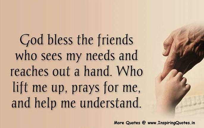 God Bless The Friend Friends Quotes Thoughts Sayings Image Flickr