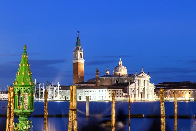 San Giorgio Maggiore seen from San Marco square , Venice