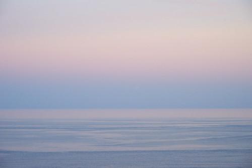 sea ocean pacific sunset