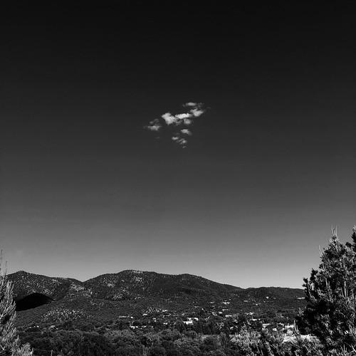 snapseed iphone june cloud usa mountain squarecrop blackandwhite newmexico santafe landscape 2018 fav10 fav20