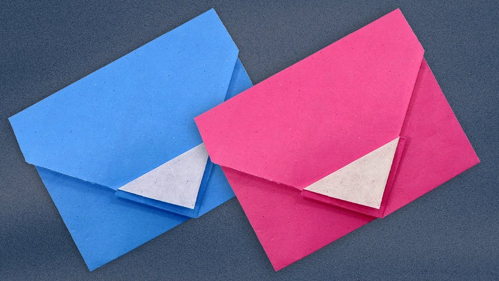 A Menko -How to Make a Traditional Origami Envelope | 576x1024