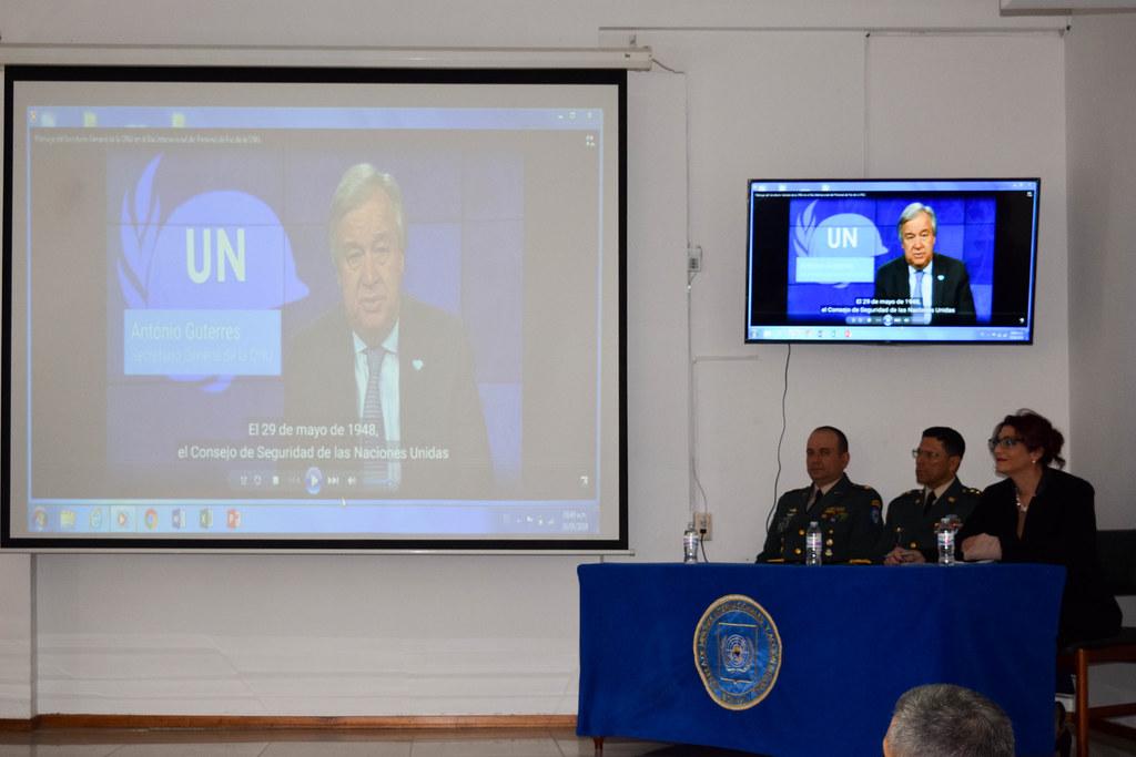 Celebración 70 años Peacekeeping