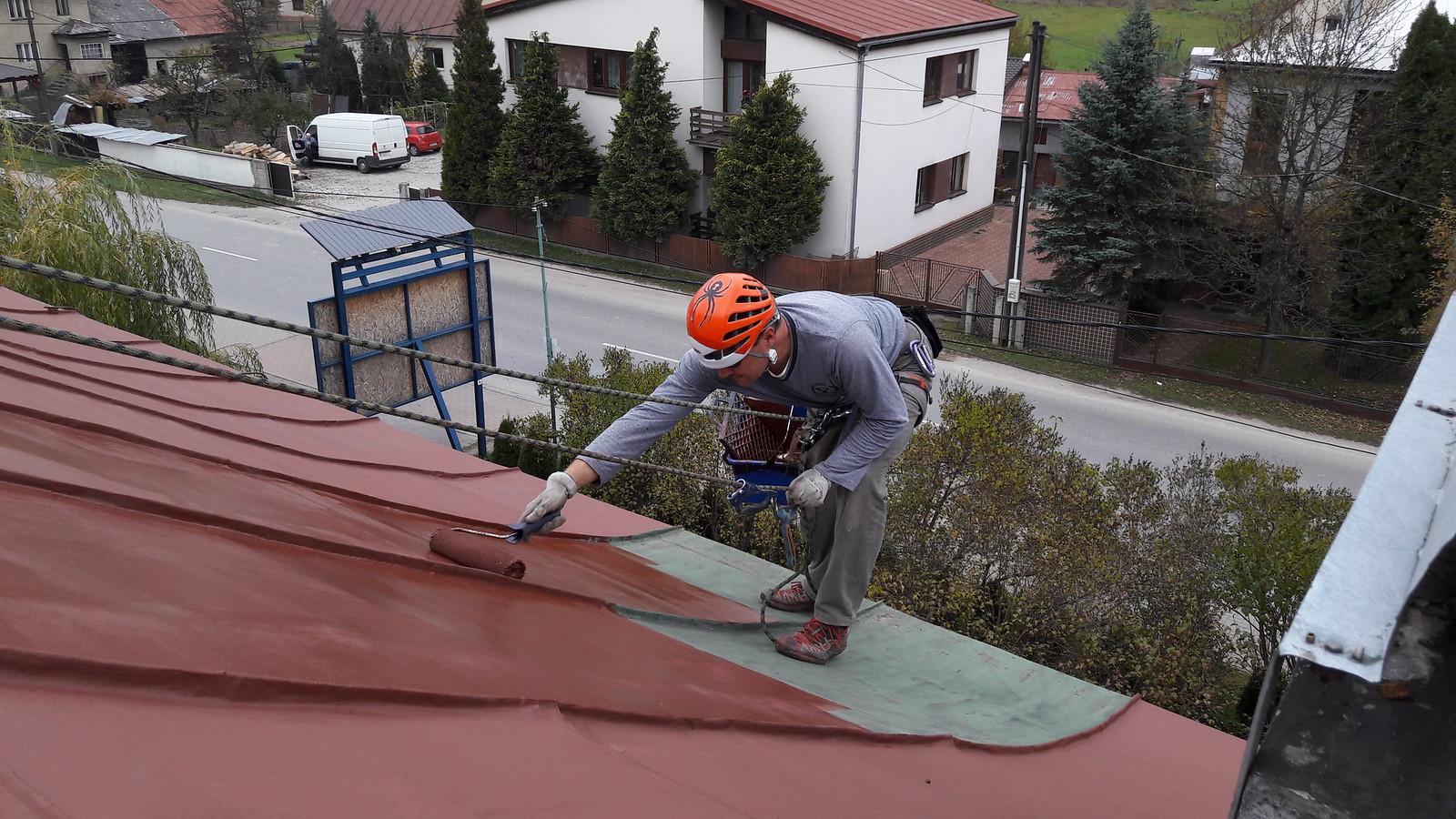 Natieračské práce svyužitím horolezeckej techniky
