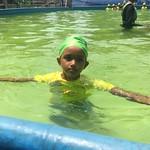 Learning to swim! SwimSafe Cox