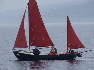 "Drascombe Lugger ""Ann"" on Sail Caledonia 2018"
