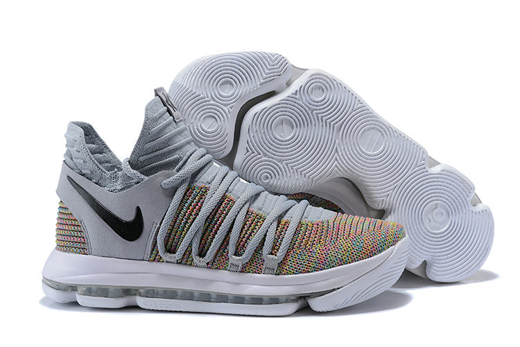 check out 55620 40272 Cheap Nike KD 10 Nike Kevin Durant 10 Multi-Color Flyknit ...