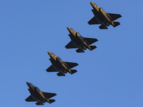 Royal Air Force   Lockheed Martin F-35B Lightning II   ZM145,ZM146,ZM147,ZM148   by MTV Aviation Photography