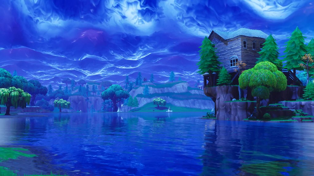 Fortnite Stormy Sky 4k Live Wallpaper A Photo On Flickriver