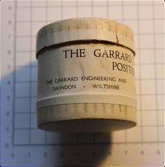Garrard Magazine Tape Deck Position Indicator 1