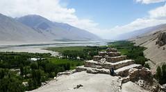 Vrang / Вранг (Tajikistan) - Stupa and Wakhan Valley