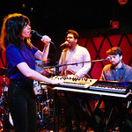 Thu, 31/05/2018 - 7:09pm - Natalie Prass and her band perform live on WFUV Radio from Rockwood Music Hall in New York City, 5/31/18. Hosted by Russ Borris. Photo by Gus Philippas/WFUV