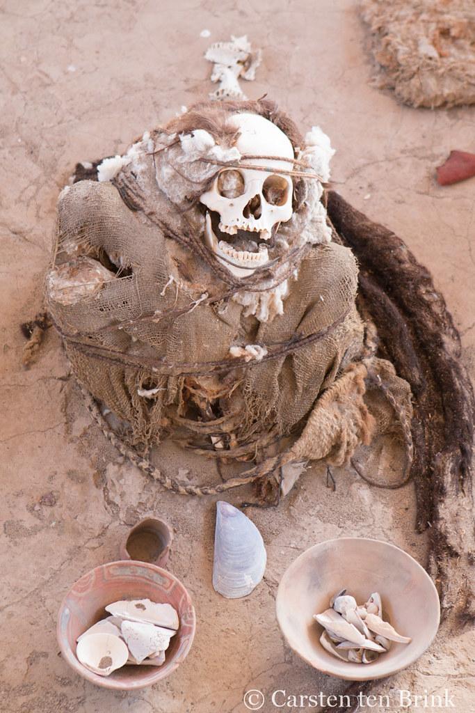 Mummy at Chauchilla