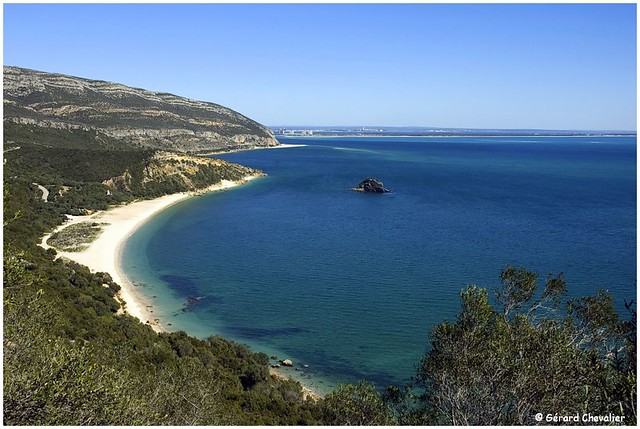 Baie de Setubal et la plage de Creiro - Portugal