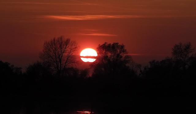 Das ist mal ein Sonnenuntergang